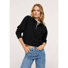 セーター .-- FRANKLIN (ブラック)