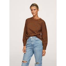 Tシャツ .-- LARIN (ブラウン)