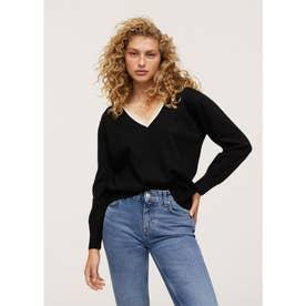 セーター .-- HONESTY (ブラック)