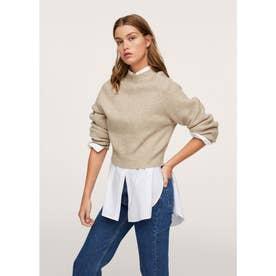 セーター .-- HUMMA (ライトベージュ)