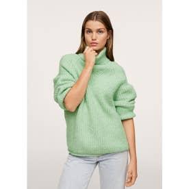 セーター .-- HALFISIN (グリーン)
