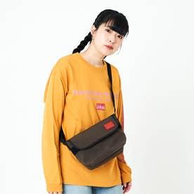 CORDURA Waxed Nylon Fabric Collection Casual Messenger Bag (D.Brown)
