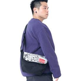 Casual Messenger Bag JR Canvas Art Print (Black)