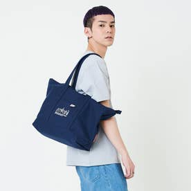 Botanical Crown Tote Canvas Lite (D.Navy/White)