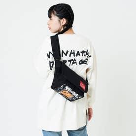 Casual Messenger Bag JR NYC Print 2021SS (Black)