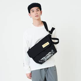 Vintage Messenger Bag JR NYC Print 2021SS (Black)