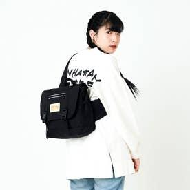 Tillary Messenger Bag Waterproof Nylon Linning (Black)