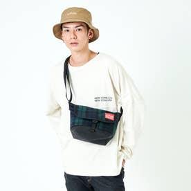Casual Messenger Bag Plaid Collection (PLD/BLK)
