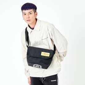 Casual Messenger Bag JR NYC Print 2021 (Black)