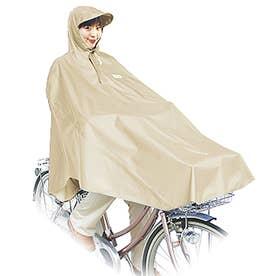 #D-3POOK 自転車屋さんのポンチョ (Beige.ベージュ)