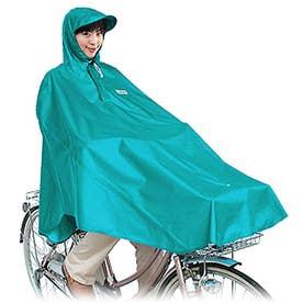 #D-3POOK 自転車屋さんのポンチョ (Turquoise.ターコイズ)