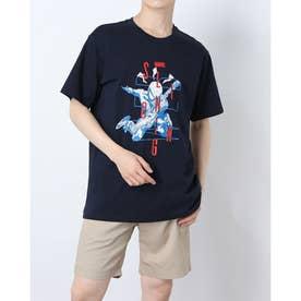 メンズ 半袖Tシャツ MV-9C12041TS (ネイビー)