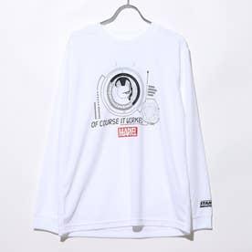 バスケットボール 長袖Tシャツ MV-8KW3630TL (ホワイト)