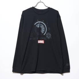 バスケットボール 長袖Tシャツ MV-8KW3630TL (ブラック)