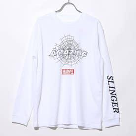 バスケットボール 長袖Tシャツ MV-8KW3620TL (ホワイト)