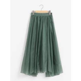 エアリーオーガンジースカート(グリーン)