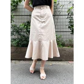 マーメイドラインスカート(ホワイト)