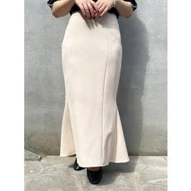 スタイルアップマーメイドスカート(ホワイト)