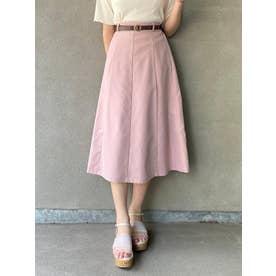 サークルバックルスカート(ピンク)