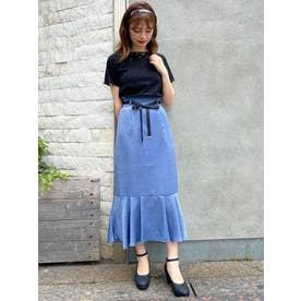 フロントリボンアソートスカート(ブルー)