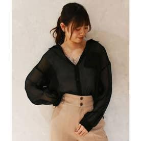☆スパークリングエアリーシャツ(ブラック)