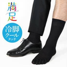 【福助】 涼感K5本指 (ブラック)