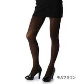 【福助】 【引き締め着圧】 60デニール タイツ (モカブラウン)
