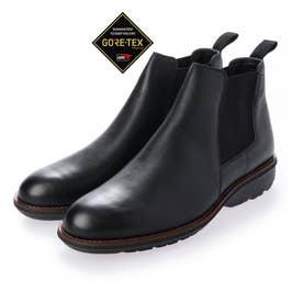 【GORE-TEX 】雨に強く蒸れにくい カジュアル・サイドゴアブーツ MW8302 (ブラック)