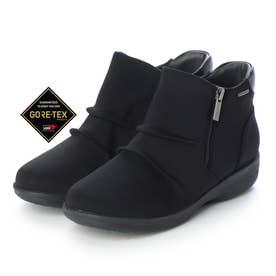 【GORE-TEX】ゆったりとした履き心地で疲れない 快適ブーツ MWL2112 (ブラックテクスチャー)