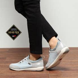 【GORE-TEX】  スッと履けてすっぽりと優しく足を包み込む ストレス無く履ける 快適軽量スニーカー  MWL1004(シルバー)