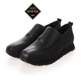 【GORE-TEX】 人気デザインの復刻版!すっと足を入れるだけで履きやすい♪楽らくスリッポンシューズ  MWL2043A (ブラック)