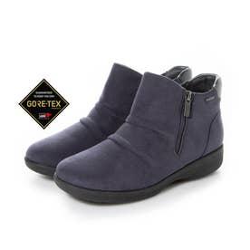 【GORE-TEX】ゆったりとした履き心地で疲れない  脱ぎ履き楽らく 快適ブーツ MWL2112 (グレー)