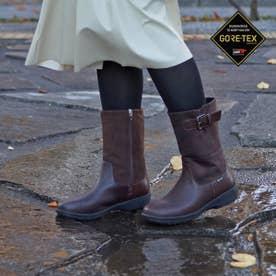 【GORE-TEX】ミドル丈でより暖かく 軽くて履きやすい ミドルブーツ MWL2207 (ダークブラウン)