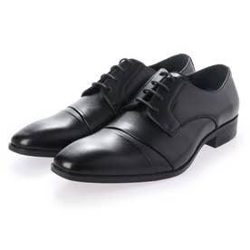 ビジネスシューズ 紳士靴 軽量 防滑 抗菌仕様 (BK)