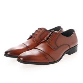 ビジネスシューズ 紳士靴 軽量 防滑 抗菌仕様 (BR)