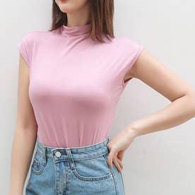 ボディフィット大人Tシャツ (ピンク)