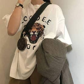 プリントビッグTシャツ (ホワイト)