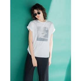 PHOTOシアーTシャツ (オフホワイト)
