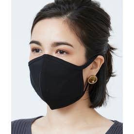 洗えるマスク 【綿100%】【日本製】 (ブラック)【返品不可商品】
