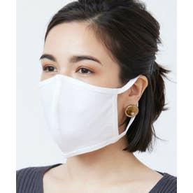 洗えるマスク 【綿100%】【日本製】 (ホワイト)【返品不可商品】