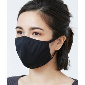 洗えるマスク【抗菌防臭】【日本製】 (ブラック)【返品不可商品】