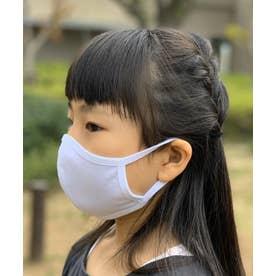 洗えるマスク【子供用】【綿100%】【日本製】 (ホワイト)【返品不可】