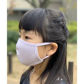 洗えるマスク【子供用】【綿100%】【日本製】 (ラベンダー)【返品不可】