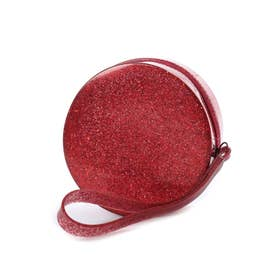 MELISSA BRIGHT POCKET (CLEAR GLITTER RED)