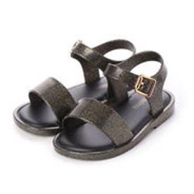Mini Melissa Mar Sandal IV (BLACK GLITTER)