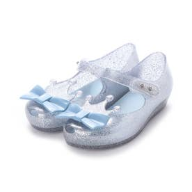 MINI MELISSA ULTRAGIRL PRINCESS ME BB (SILVER GLITTER CLEAR/BLUE)