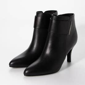 ベルテッドショートブーツ (ブラック)