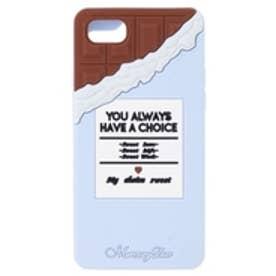 ChocolateシリコンiPhoneケース(6/6S/7対応) ブルー