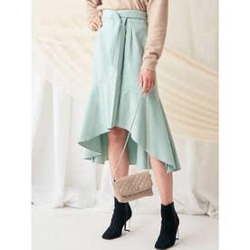 ラップマーメードスカート(ミントグリーン)