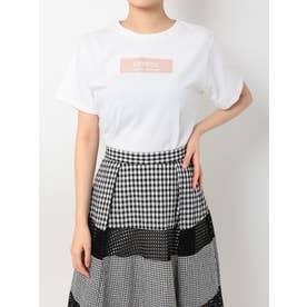 ボックスロゴTシャツ(オフホワイト)